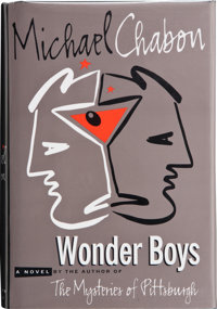 Michael Chabon. Wonder Boys. New York: Villard Books, 1995. First edition. Signed by the aut