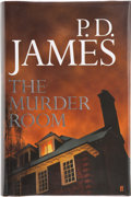Books:First Editions, P. D. James. The Murder Room. [London]: Faber and Faber,[2003]. First edition. Publisher's original binding and dus...