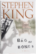 Books:Signed Editions, Stephen King. Bag of Bones. [New York]: Scribner, [1998]. First edition. Signed by the author on the title page. ...