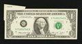 Error Notes:Foldovers, Fr. 1908-G $1 1974 Federal Reserve Note. Very Fine-Extremely Fine.....