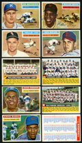 Baseball Cards:Lots, 1956 Topps Baseball Collection (77) With HoFers, Checklist and Teams!...
