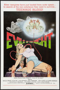 """Movie Posters:Horror, Evils of the Night (Aquarius Releasing, 1985). One Sheet (27"""" X41"""") Flat Folded. Horror.. ..."""