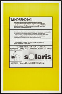 "Solaris (Magna, 1976). One Sheet (27"" X 41"") Review Style. Science Fiction"