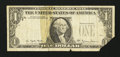 Error Notes:Third Printing on Reverse, Fr. 1910-L $1 1977A Federal Reserve Note. Very Good.. ...