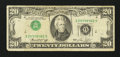 Error Notes:Inverted Third Printings, Fr. 2071-G $20 1974 Federal Reserve Note. Very Good-Fine.. ...