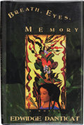Books:Signed Editions, Edwidge Danticat. Breath, Eyes, Memory. [New York]: Soho, [1994]. First edition. Signed by the author on the tit...