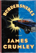 Books:First Editions, James Crumley. Bordersnakes. [New York]: The MysteriousPress / Warner Books, [1996]. First edition. Publisher's ori...