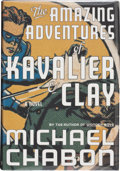 Books:Signed Editions, Michael Chabon. The Amazing Adventures of Kavalier & Clay. A Novel. New York: Random House, [2000]. First editio...