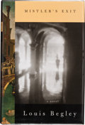 Books:Signed Editions, Louis Begley. Mistler's Exit. New York: Alfred A. Knopf, 1998. First edition. Signed and dated by the author in Wa...