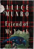 Books:First Editions, Alice Munro. Friend of My Youth. Stories. New York:Alfred A. Knopf, 1990. First edition. Publisher's original b...