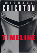 Books:Signed Editions, Michael Crichton. Timeline. New York: Alfred A. Knopf, 1999. First trade edition. Signed and dated by the author ...