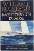 Books:Signed Editions, William F. Buckley, Jr. Racing Through Paradise. A Pacific Passage. Photographs by Christopher Little. New Y...