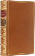 Books:First Editions, Charles Dickens. The Posthumous Papers of the Pickwick Club.London: Chapman and Hall, 1837.. First edition. Octav...