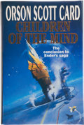 Books:Signed Editions, Orson Scott Card. Children of the Mind. New York: A Tom Doherty Associates Book, 1996. First edition. Signed b...