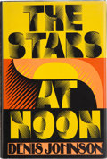 Books:Signed Editions, Denis Johnson. The Stars at Noon. New York: Alfred A. Knopf, 1986. First edition. Signed by the author on the ...