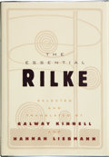 Books:Signed Editions, [Rainer Maria Rilke]. Galway Kinnell and Hannah Liebmann (editors). The Essential Rilke. Hopewell, New Jersey: T...