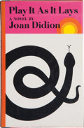 Books:Signed Editions, Joan Didion. Play It As It Lays. New York: Farrar, Straus & Giroux, 1970. First edition. Signed by the author ...