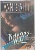 Books:Signed Editions, Ann Beattie. Picturing Will. New York: Random House, [1989]. First edition. Signed by the author on the title pa...