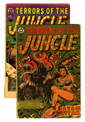 Golden Age (1938-1955):Horror, Terrors of the Jungle #5 and 9 Group (Star Publications, 1953)....(Total: 2 Comic Books)