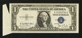 Error Notes:Attached Tabs, Fr. 1613W $1 1935D Silver Certificate. Very Fine.. ...
