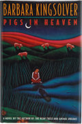 Books:Signed Editions, Barbara Kingsolver. Pigs in Heaven. New York: HarperCollins, [1993]. First edition, first printing. Signed by the ...