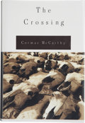 Books:First Editions, Cormac McCarthy. The Crossing. New York: Alfred A. Knopf,1994. First edition, first printing. Publisher's original ...