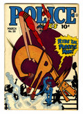 Golden Age (1938-1955):Crime, Police Comics #28 (Quality, 1944) Condition: FN+....