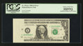 Error Notes:Inking Errors, Fr. 1914-L $1 1988 Federal Reserve Note. PCGS Choice About New 55PPQ.. ...