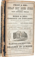 Books:Non-fiction, Mooney and Morrison, compilers. Mooney & Morrison's GeneralDirectory of the City of San Antonio For 1877-78....