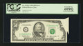 Error Notes:Attached Tabs, Fr. 2125-G $50 1993 Federal Reserve Note. PCGS Extremely Fine45PPQ.. ...