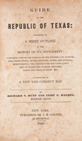 Books:Early Printing, Richard S. Hunt and Jesse F. Randel. (1839) Guide to theRepublic of Texas: Consisting of a Brief Outline of t...