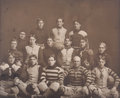 Photography:Studio Portraits, Dallas Lightweights Football Team Photo, 1901. Large black andwhite photograph affixed to a board for an overall size of 17...