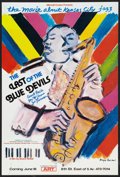 "Movie Posters:Documentary, The Last of the Blue Devils (Rhapsody, 1980). Window Card (12"" X 18.25""). Documentary.. ..."