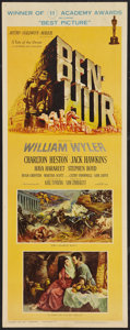"Movie Posters:Historical Drama, Ben-Hur (MGM, 1959). Insert (14"" X 36"") Academy Awards Style.Academy Award Winner.. ..."