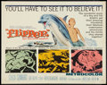 """Movie Posters:Adventure, Flipper Lot (MGM, 1963). Half Sheets (2) (22"""" X 28""""). Adventure..... (Total: 2 Items)"""