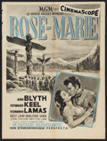 "Movie Posters:Musical, Rose Marie (MGM, 1954). French Affiche (23.5"" X 31.5""). Musical....."