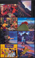 "Movie Posters:Animated, The Hunchback of Notre Dame (Buena Vista, 1996). Lobby Card Set of8 (11"" X 14""). Animated.. ... (Total: 8 Items)"