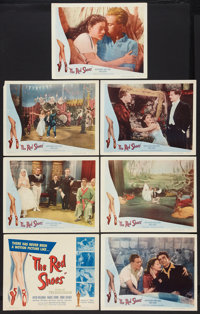 "The Red Shoes (Eagle Lion, 1949). Title Lobby Card and Lobby Cards (6) (11"" X 14""). Fantasy. ... (Total: 7 Ite..."