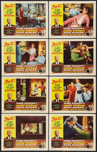 "Rear Window (Paramount, R-1962). Lobby Card Set of 8 (11"" X 14""). Hitchcock. ... (Total: 8 Items)"
