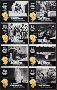 """The Wild, Wild World of Jayne Mansfield (Southeastern Pictures Corporation, 1968). Lobby Card Set of 8 (11"""" X 14&qu..."""