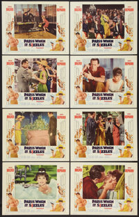 """Paris When it Sizzles (Paramount, 1964). Lobby Card Set of 8 (11"""" X 14""""). Romance. ... (Total: 8 Items)"""