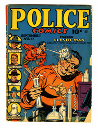 Police Comics #11 (Quality, 1942) Condition: FR/GD