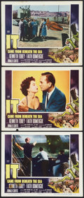 "Movie Posters:Science Fiction, It Came from Beneath the Sea (Columbia, 1955). Lobby Cards (3) (11""X 14""). Science Fiction.. ... (Total: 3 Items)"