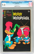 Bronze Age (1970-1979):Cartoon Character, Woody Woodpecker #114 File Copy (Gold Key, 1970) CGC NM/MT 9.8Off-white to white pages....