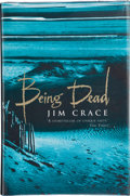 Books:Signed Editions, Jim Crace. Being Dead. [London, et al.]: Viking, [1999]. First edition. Signed by the author on the title page....