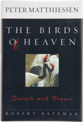 Books:Signed Editions, Peter Matthiessen. The Birds of Heaven. Travels with Cranes. Paintings and drawings by Robert Bateman. New York:...