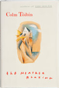 Books:Signed Editions, Colm Tóibín. The Heather Blazing. [New York, et al.]: Viking, [1992]. First edition. Signed by the author on the t...