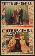 "Movie Posters:Musical, Cheer Up and Smile (Fox, 1930). Lobby Cards (2) (11"" X 14"").Musical.. ... (Total: 2 Items)"