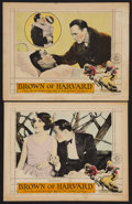 "Brown of Harvard (MGM, 1926). Lobby Cards (2) (11"" X 14""). Sports. ... (Total: 2 Items)"