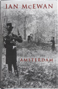 Books:Signed Editions, Ian McEwan. Amsterdam. London: Jonathan Cape, [1998]. First edition, first printing. Signed by the author. Publi...